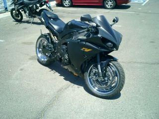 2012 Yamaha R1 W / Custom Wheels And Exhaust photo