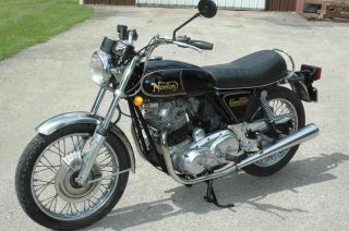1975 Norton 850 Commando W / Electric Start photo