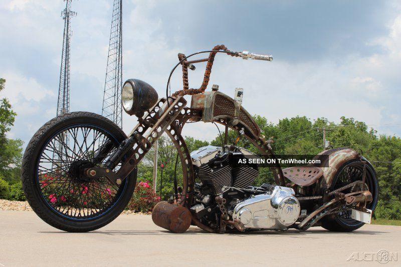 2013 Custom Rat Bobber Chopper,  96