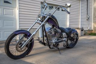 2001 Jesse James West Coast Chopper Frame 2010 127