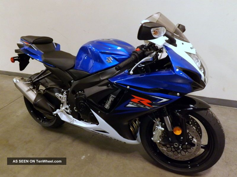 2014 Suzuki Gsx - R750 Gsx Brembo 0mi Gixxer Gsxr 750 Blu / Wht Blk / Red No Fees GSX-R photo
