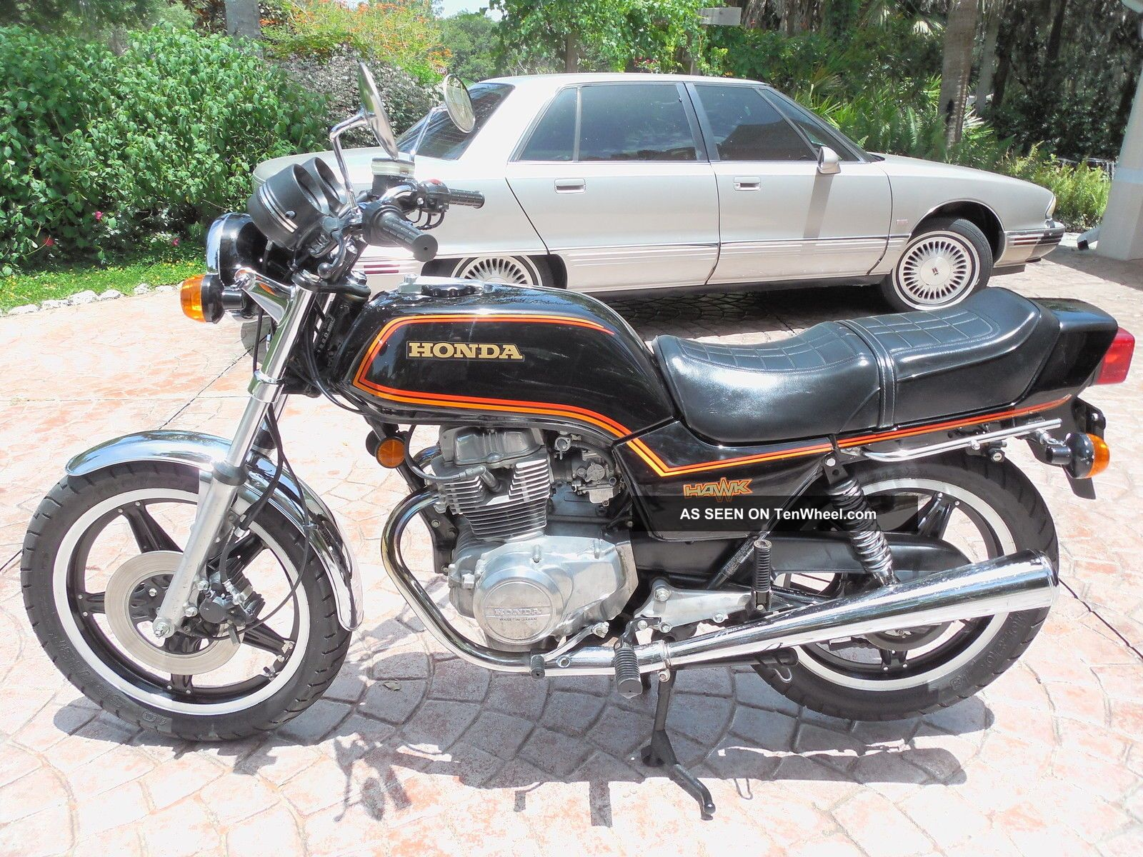 1980 Honda Cb400 Hawk Cx500 Wiring Diagram