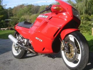 1992 Ducati 907 Ie 904cc Fuel Injected Water Cooled Cond photo