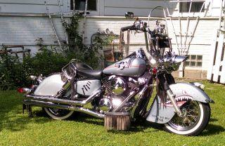 2001 Kawasaki Vulcan Drifter 1500 Fighter Bomber Indian Motorcycle photo