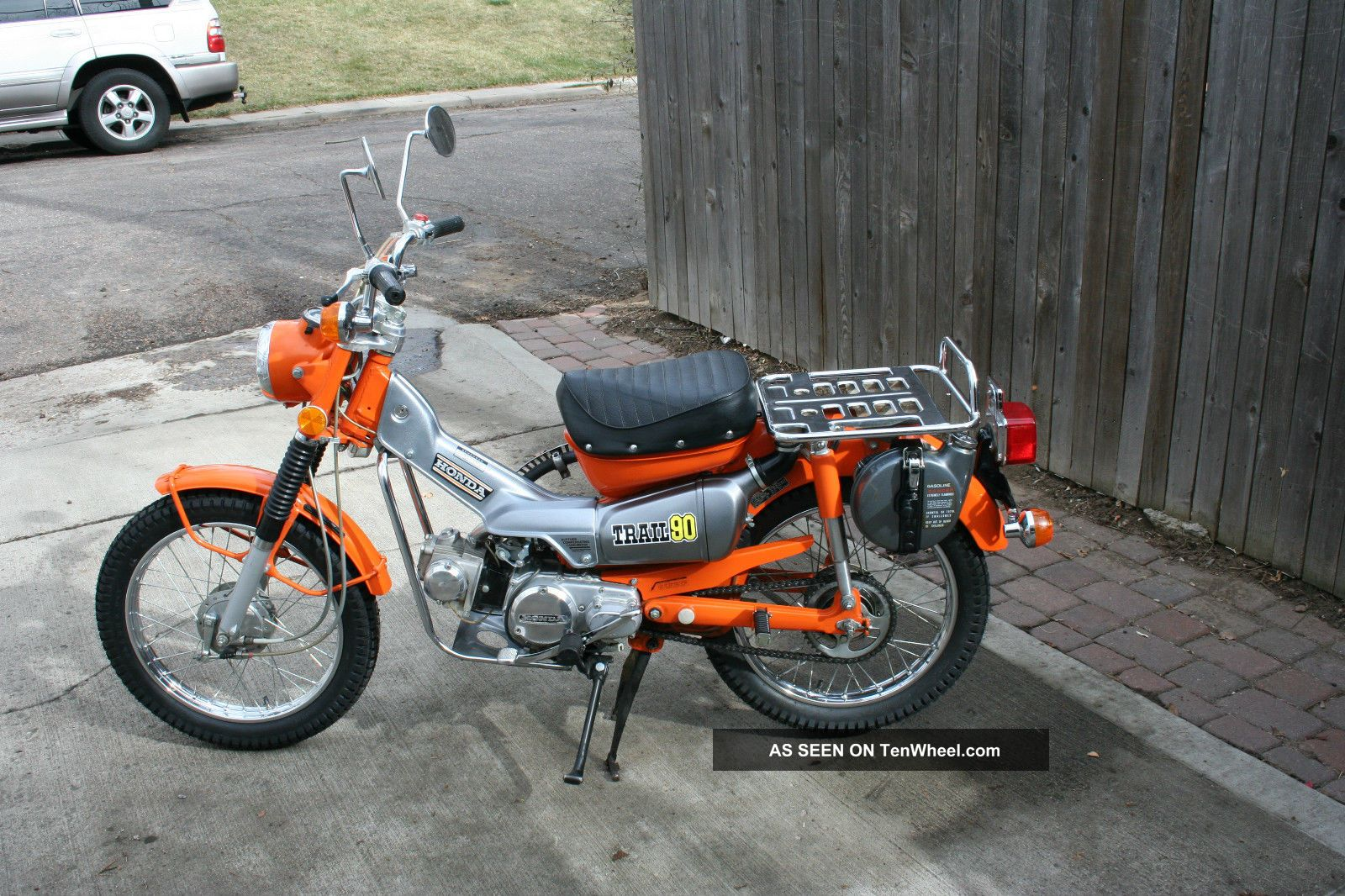 Honda Ct 90 Trail 1974 CT photo