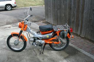 Honda Ct 90 Trail 1974 photo