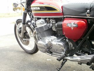 1976 Honda 750 Four Motorcycle photo