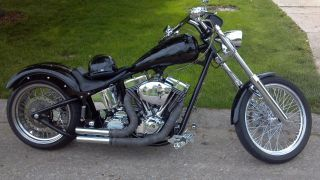 2011 Custom Softail Chopper - 127ci - 140hp photo