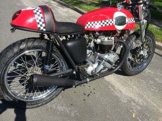1965 Triumph Tr6 Custom Built Cafe Racer This Is A photo