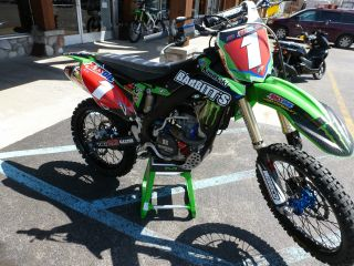 2014 Kawasaki Kx 250f Babbitts Arenacross Team photo