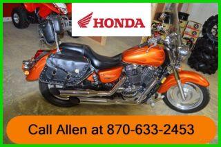 2002 Honda Shadow Vt1100 Sabre Motorcycle Street Bike Pu photo