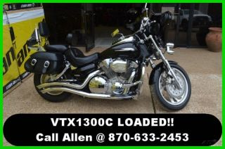 2009 Honda Vtx 1300 C Motorcycle With Radio Loaded Pu photo