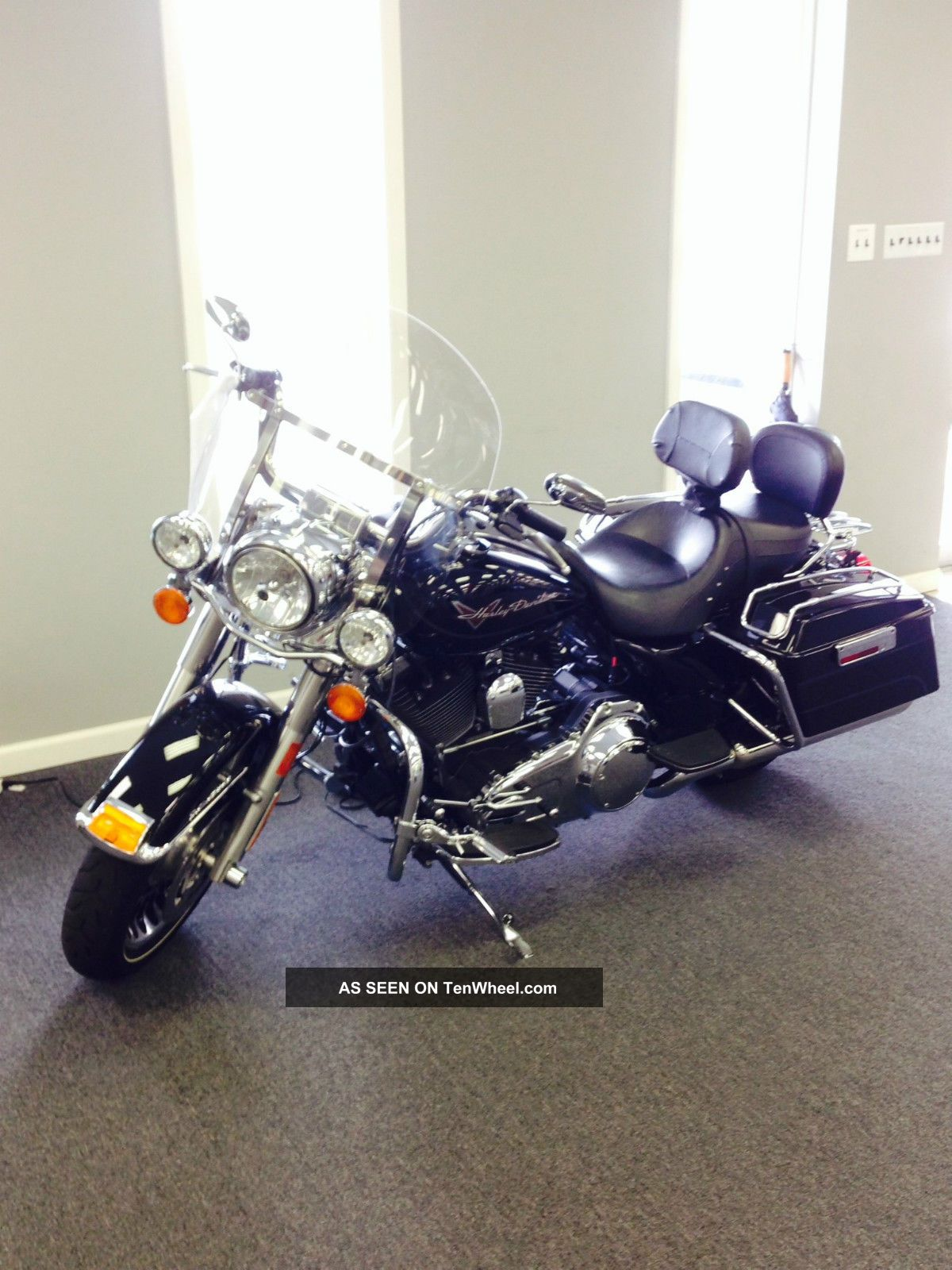 2010 Harley - Davidson Road King Flhr 1584 Cc V Twin Touring photo