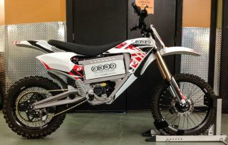 2011 Zero Mx Electric Off Road Motorcycle With Factory Battery photo