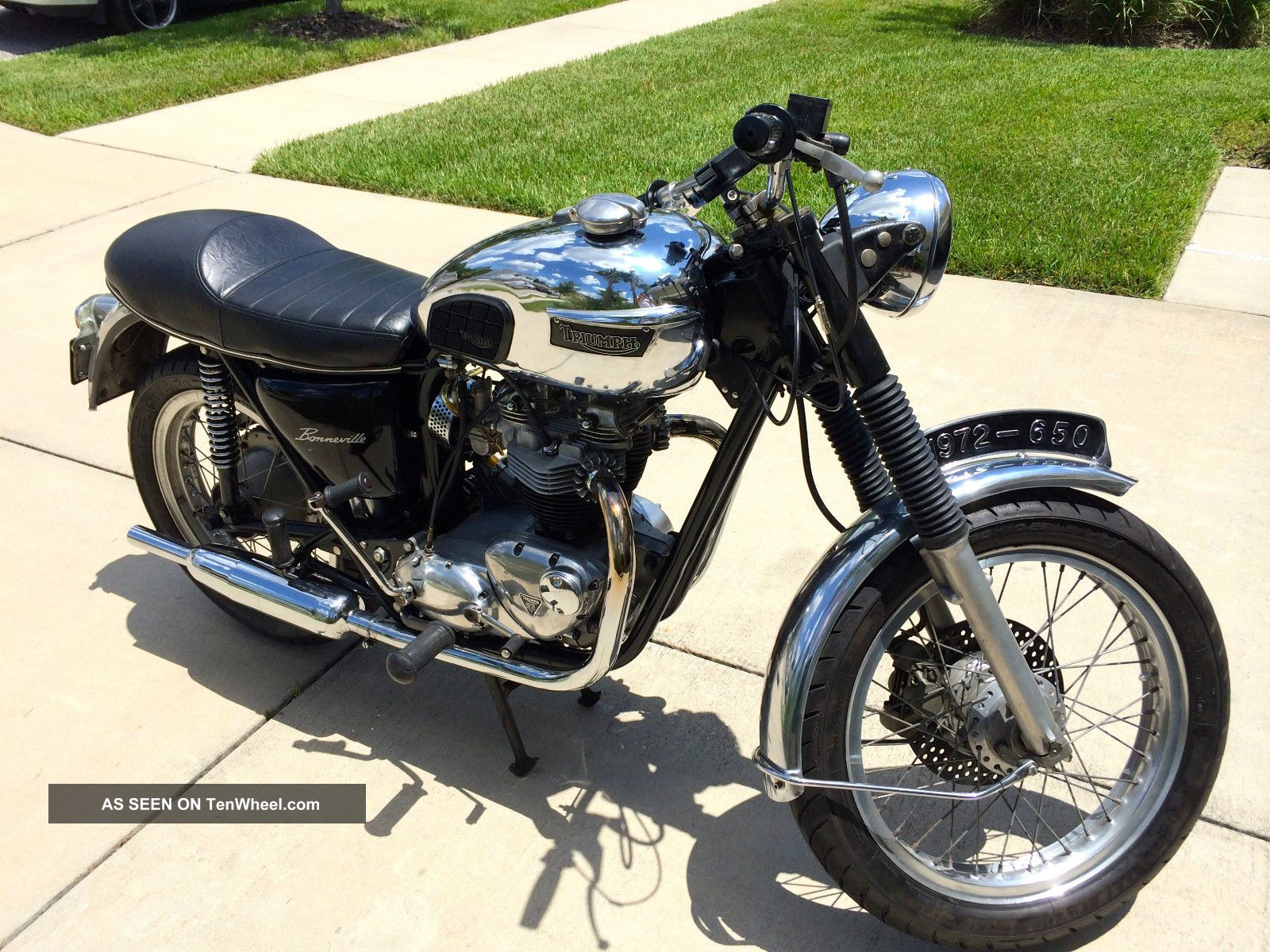 1972 triumph motorcycle modelson - photo #4