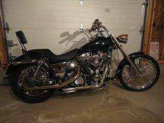 Harley 1993 Fxrs,  Lots Of Chrome,  Wideglide, ,  Paint,  Tires photo