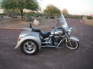 Unique 2005 Yamaha Roadster 1300 Trike - Solid Axle Champion - photo