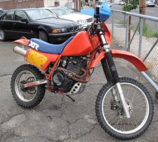 1984 Honda Xr500r Xr500 Dirtbike Titled photo
