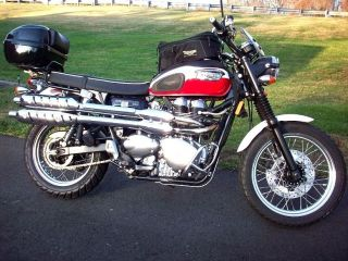 2006 Triumph Scrambler Loaded With Accesories Ready To Rock photo