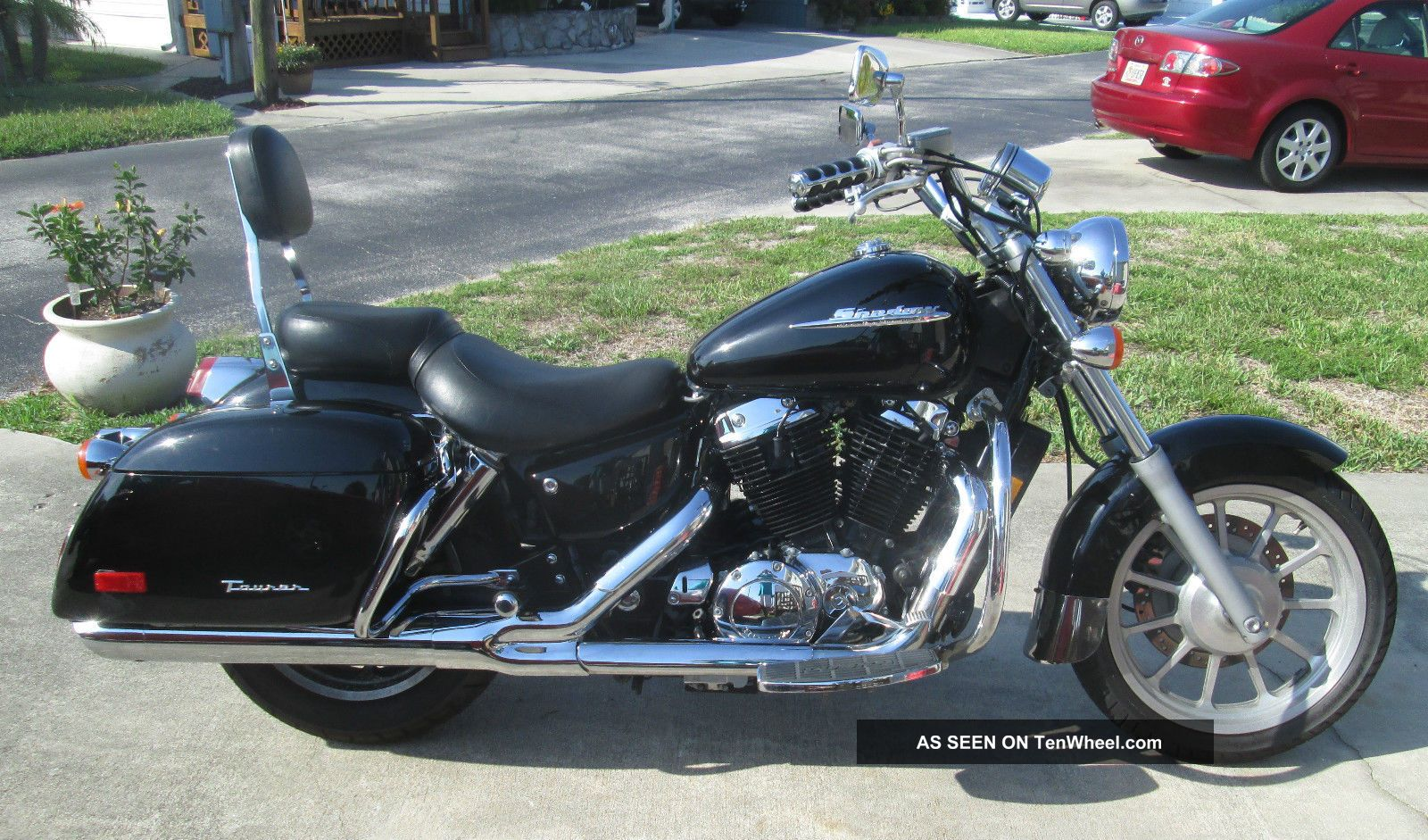 1999 honda vt1100t shadow 1100 american classic edition tourer for American classic