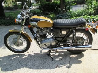 1971 Triumph Bonneville T120 Unrestored photo