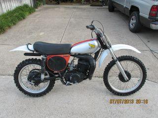 1975 Honda Cr 250 Elsinore - Vintage Dirt Bike photo