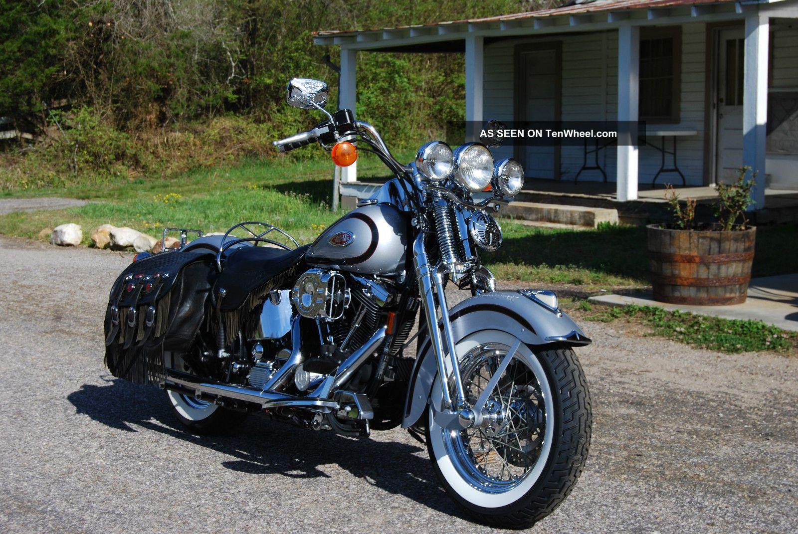 3 Wheel Motorcycle Honda >> 1999 Harley Davidson Heritage Springer Flsts - Loaded