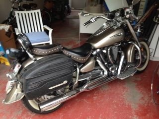 2004 Road Star Motorcycle. . .  Fully Chromed photo