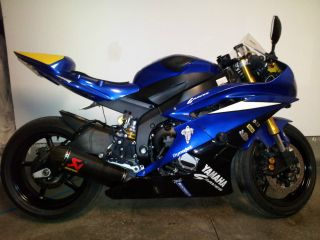 2006 Yamaha Yzf - R6 Track Ready Street Legal photo