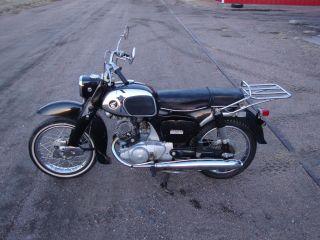 1966 Honda 150cc Model Ca95 photo