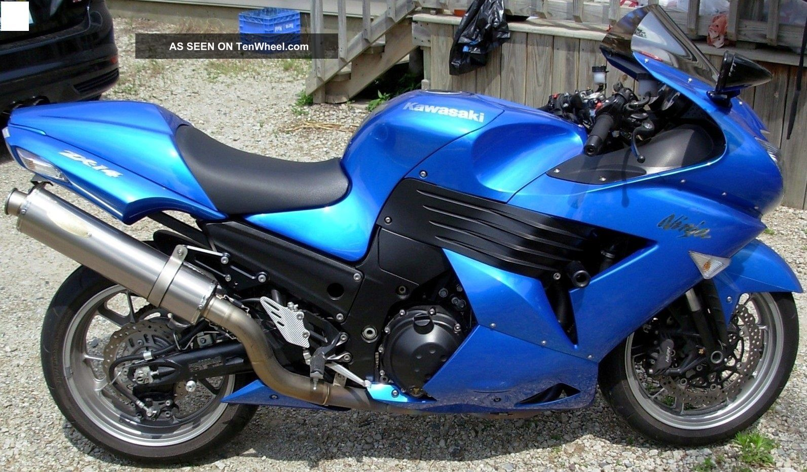 2007 Kawasaski Zx14 Ninja Ninja photo