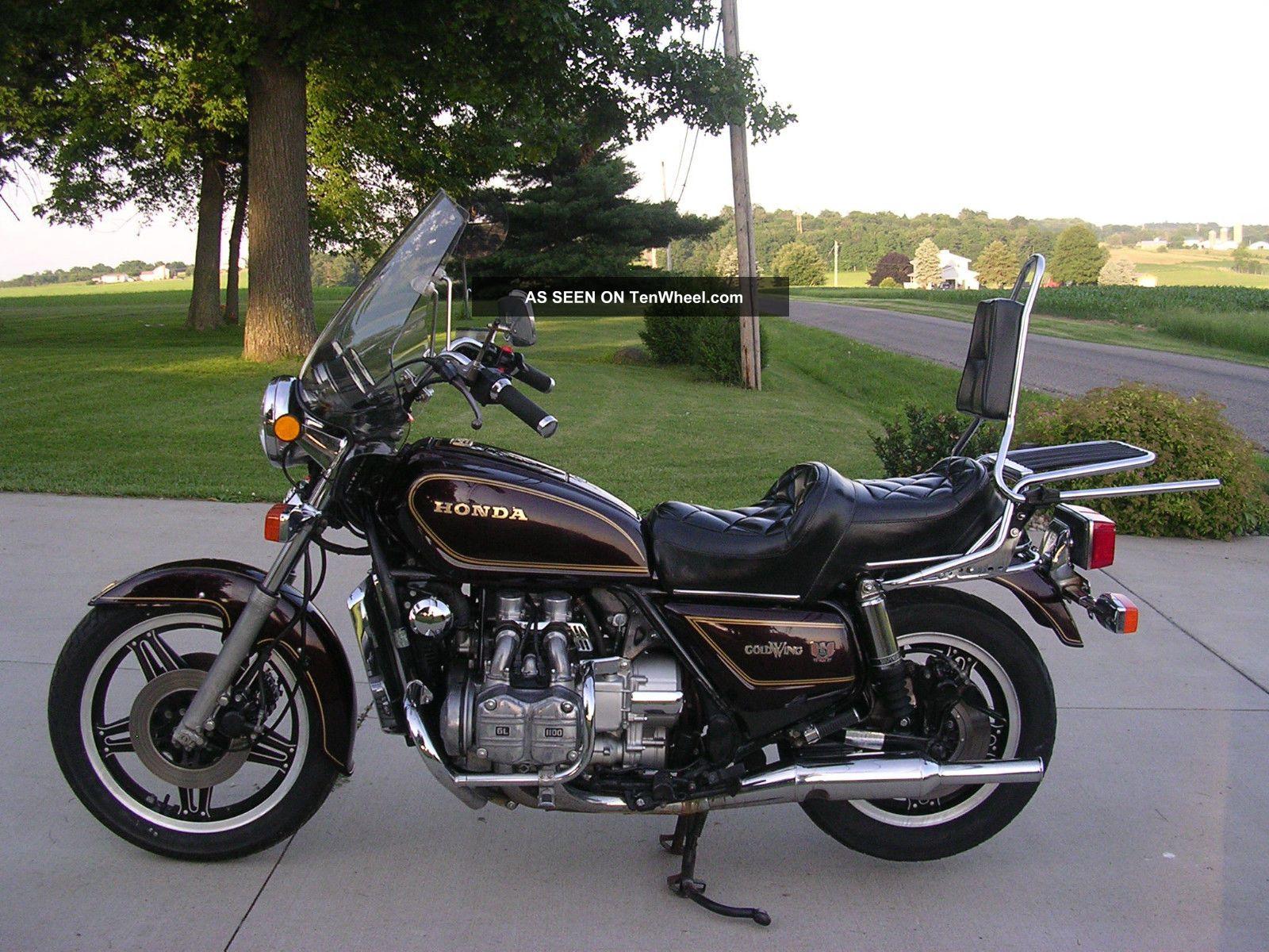 1980 Honda Gl1100 Goldwing 1100 Stock Survivor