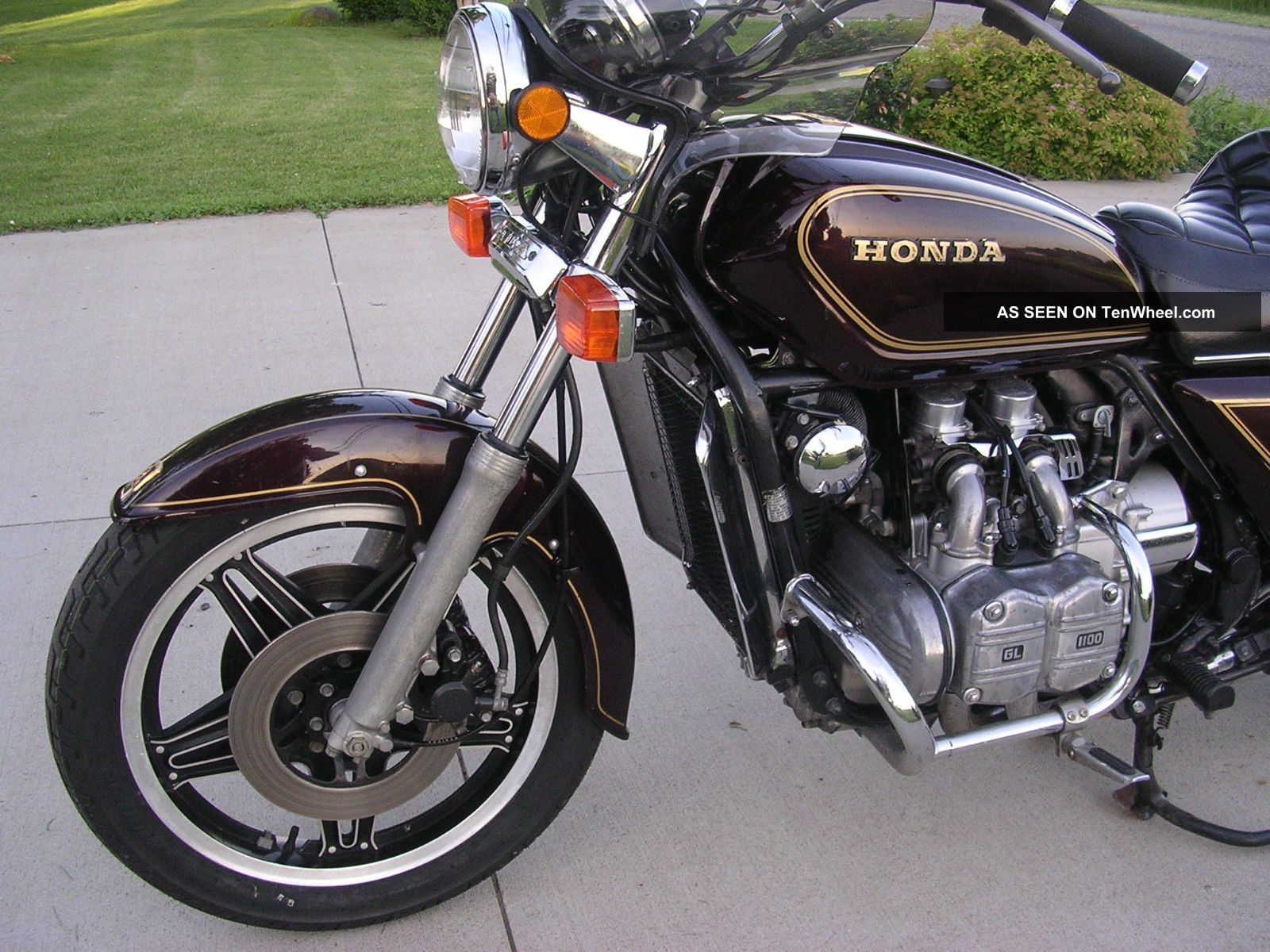 1980 Honda Gl1100 Goldwing 1100 Stock Survivor