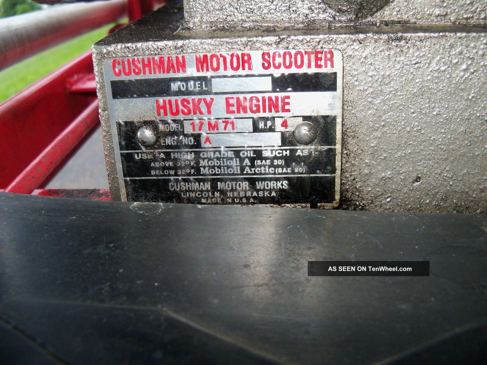 ... 1948 Cushman Motor Scooter Military Cushman photo 12