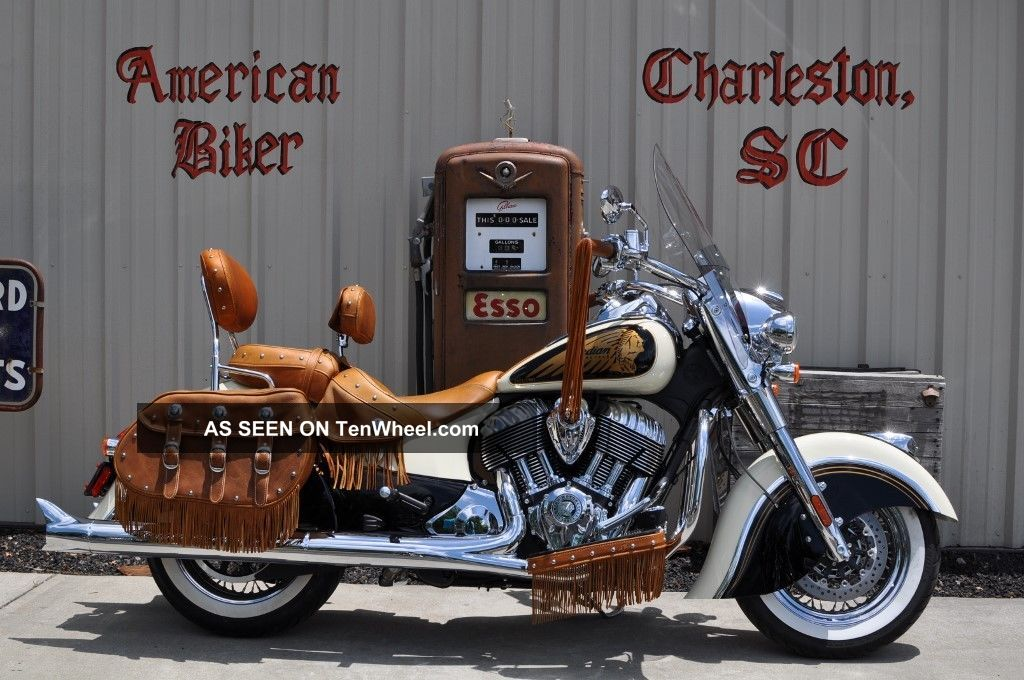2014 Indian Chief Vintage With Dealer Installed Custom Paint
