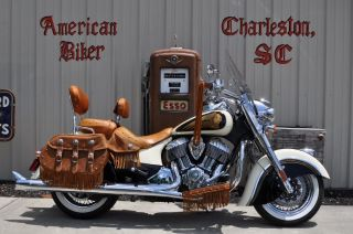 2014 Indian Chief Vintage With Dealer Installed Custom Paint photo