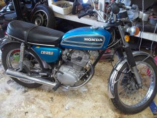 1975 Honda Cb125s photo
