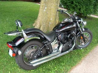 2007 Vstar 1100cc Custom Midnight photo