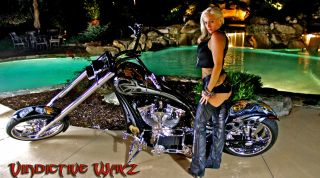 2007 Custom Built 11 Foot Long Chopper Show Winner From Sturgis To Panama City photo
