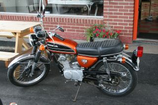 1974 Honda Cb125 - - Runs Well photo