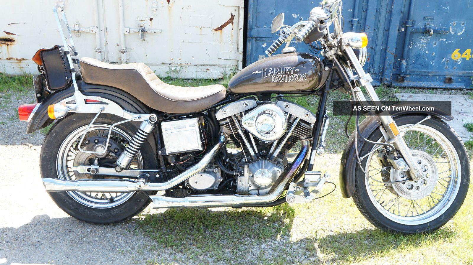 1978 Harley Davidson Fxe Superglide Shovelhead Amf Lowrider