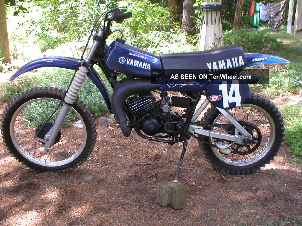 yamaha 1979 yz125 dirt bike vintage moto cross ahrma yz. Black Bedroom Furniture Sets. Home Design Ideas