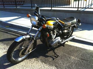 1974 Triumph Trident T150v 750cc photo