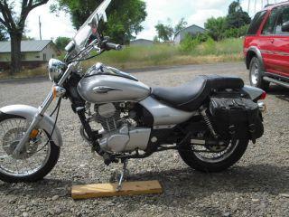 2007 Kawasaki Eliminator Custom 125cc / photo