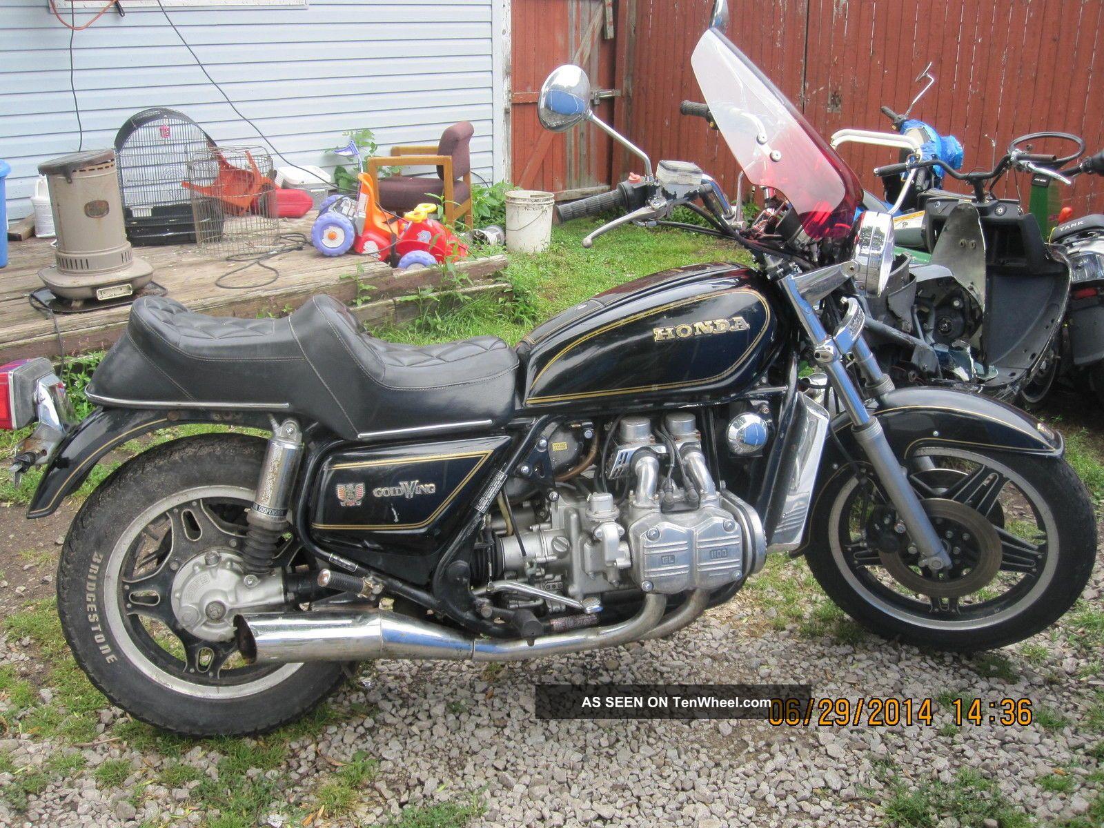 1980 honda goldwing gl1100 for 1980s honda motorcycles