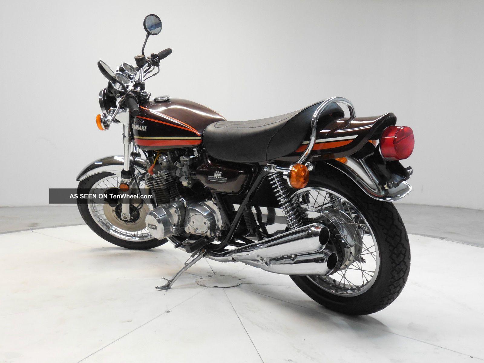 1975 Kawasaki Z1 900 Vintage Motorcycle Condition Eye Catcher