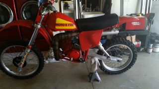 1979 Honda Cr250 Cr 250 Elsinore Moto Fox Vintage Calvmx 79 Red Rocket photo