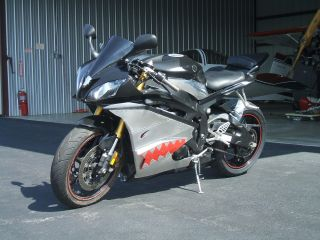 2006 Yamaha R6.  Black With Custom Aluminum Fairings photo