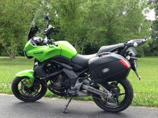 2009 Kawasaki 650 Versys - Many Accessories photo