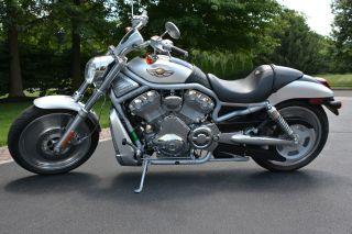 2003 Harley Davidson Vrod 100th Anniversary Black Tank Edition photo